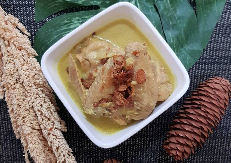 Resep Opor Ayam Praktis