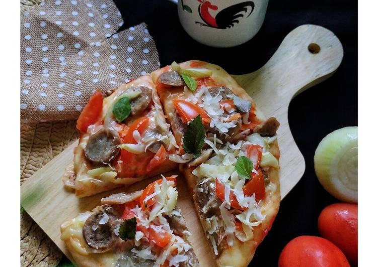Resep Veggie's Pizza (No Ulen)
