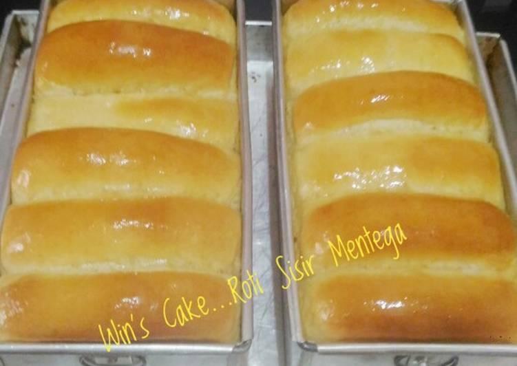 Resep Roti Sisir Mentega #No Mixer#