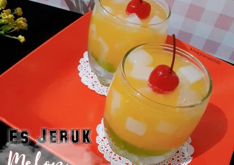 Resep Es Jeruk Melon Naco