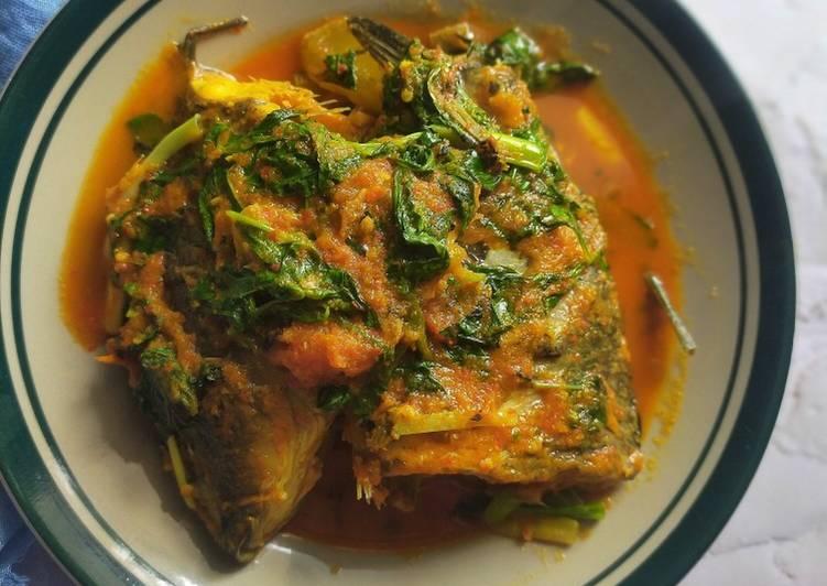 Resep Ikan Mas Woku
