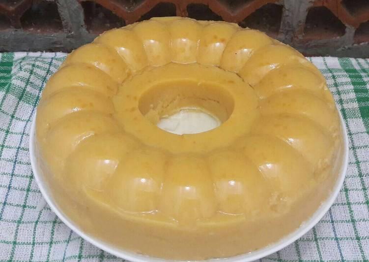 Resep Pudding ubi jalar kuning