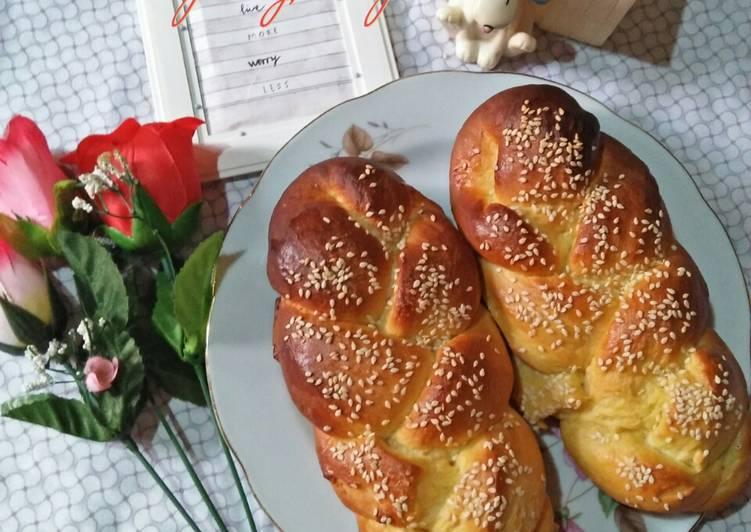 Resep Roti Kepang Empuk