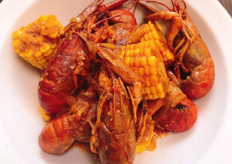 Resep Baby Lobster Saus Padang