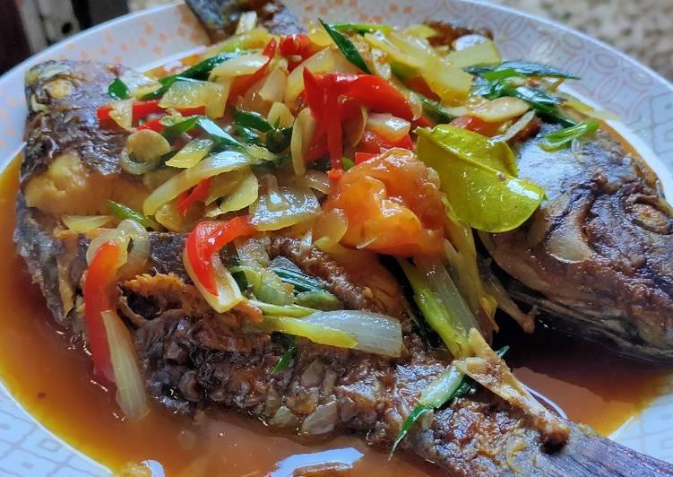 Resep Ikan goreng kecap