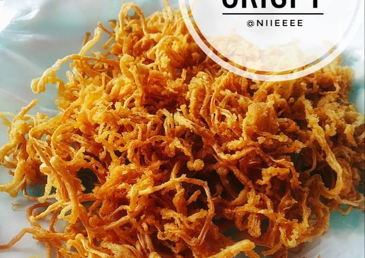 Resep Jamur Enoki Crispy