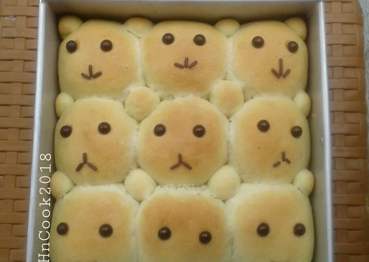 Resep Roti sobek beruang