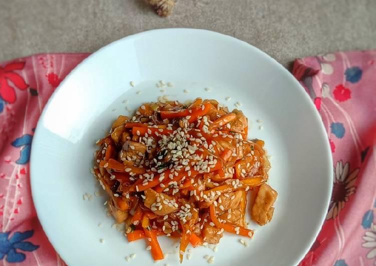 Resep Ayam Wijen/Sesame Chicken