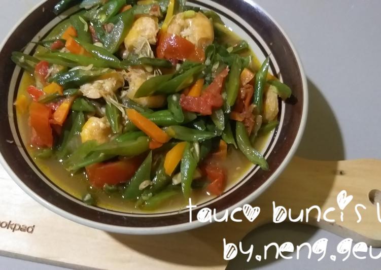 Resep Tauco buncis wortel