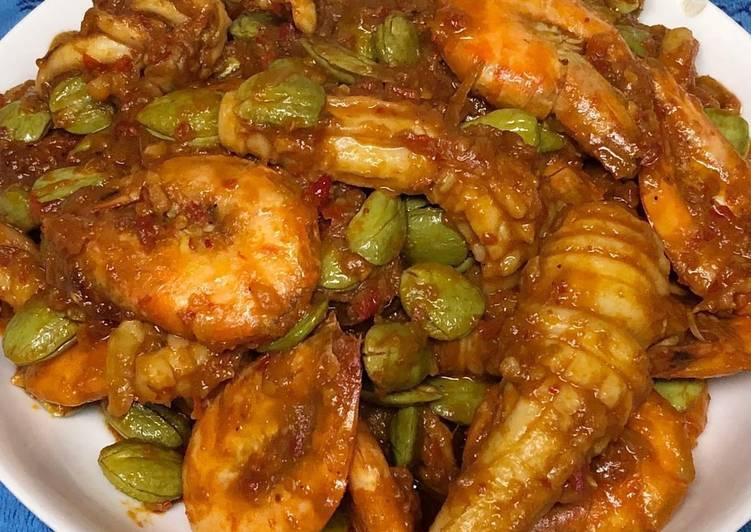 Resep Sambel pete seafood