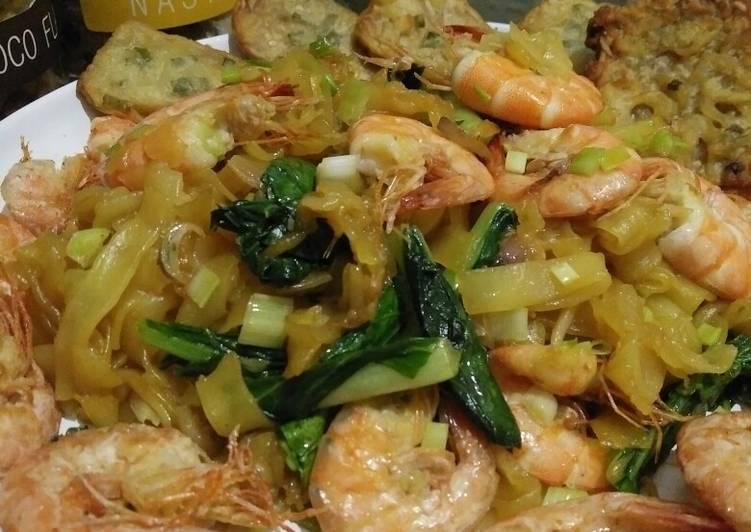 Resep Kwetiau seafood