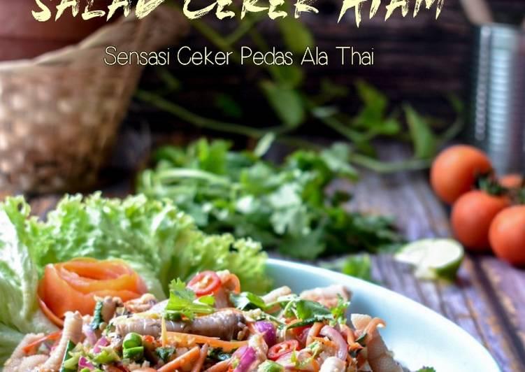 Resep Salad Ceker Ayam Ala Thai