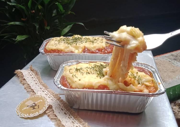 Resep Spaghetti Brulee Panggang