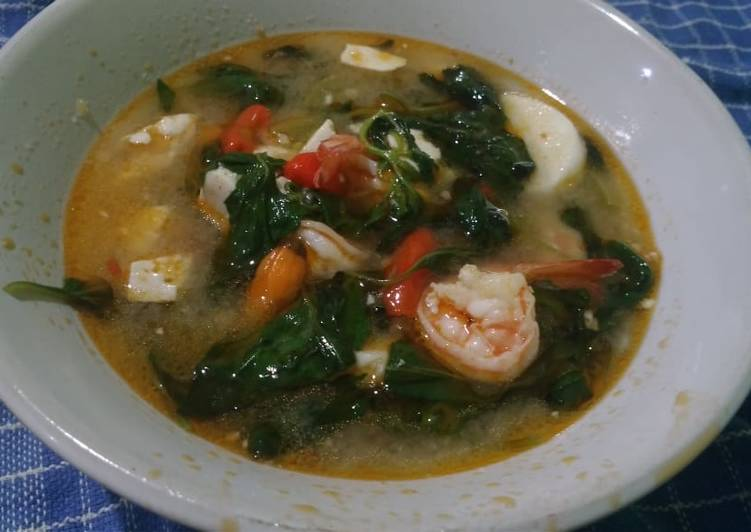 Resep Sop udang kemangi