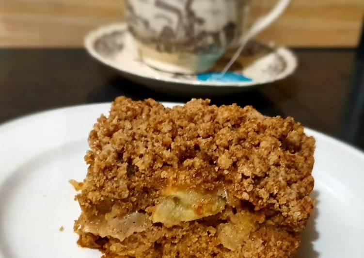 Resep Apple Pie Crumble Blondies