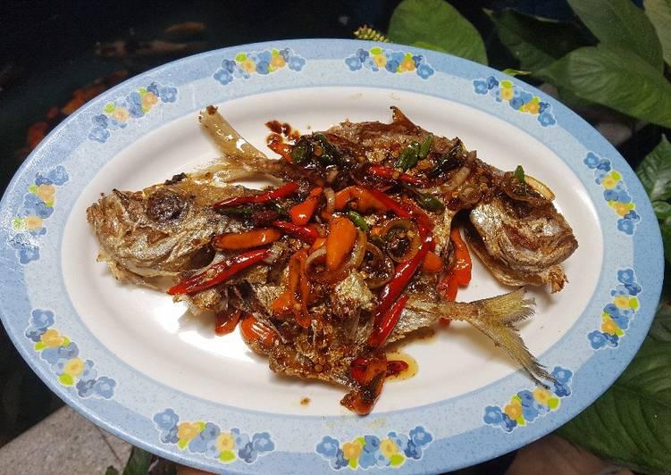 Resep Ikan goreng bumbu simple