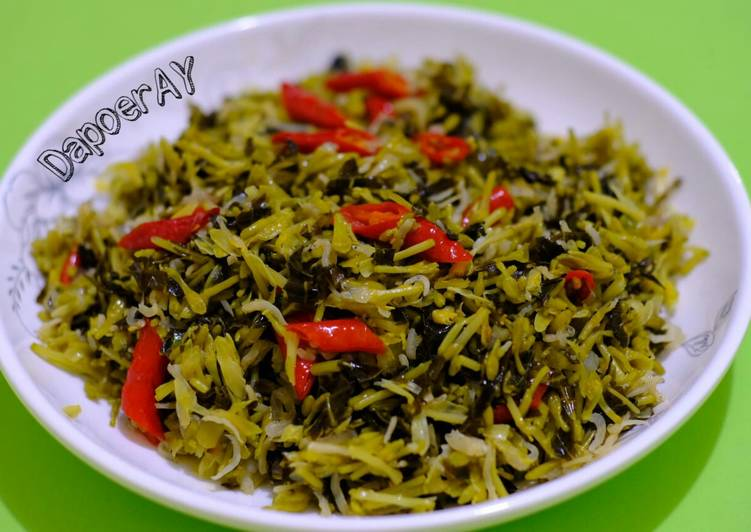 Resep Tumis Bunga + Daun Pepaya ga begitu pait