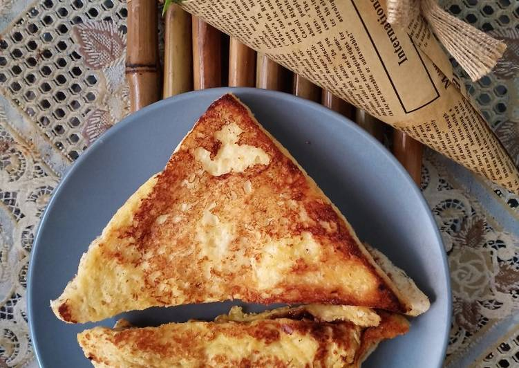 Resep Chocolate & Cheese French Toast