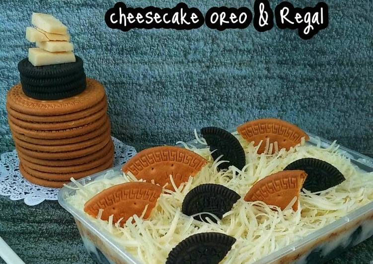 Resep (Snack Mpasi 12mo+) Cheesecake oreo & regal