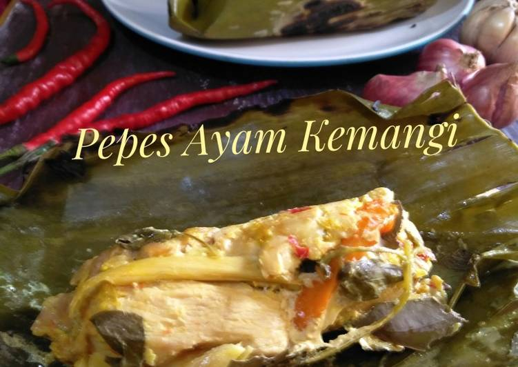 Resep Pepes Ayam Kemangi