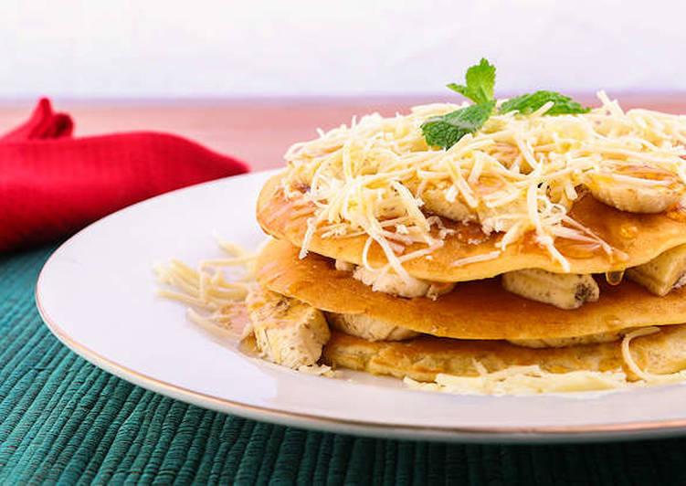 Resep Pancake Pisang Keju