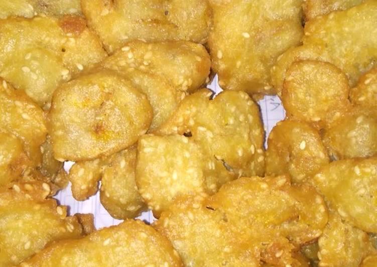 Resep Pisang goreng lempang lempong