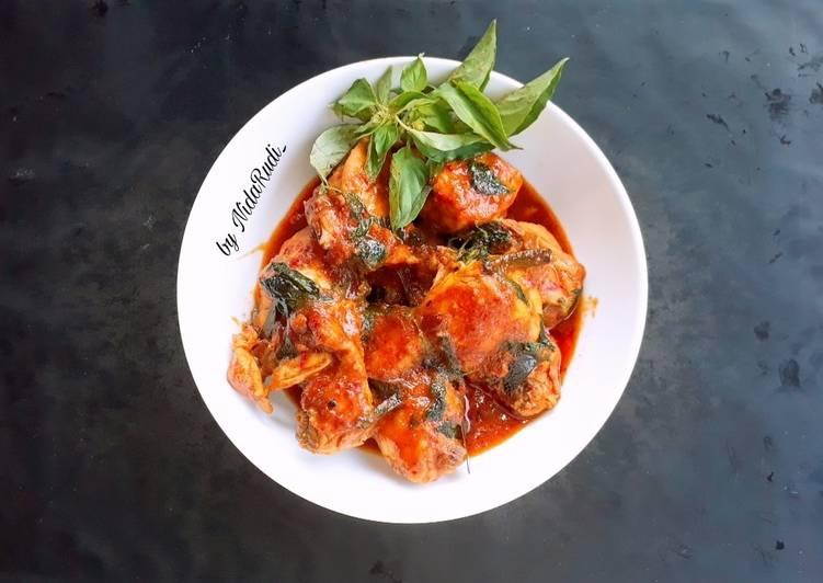 Resep Ayam Tuturuga khas Manado