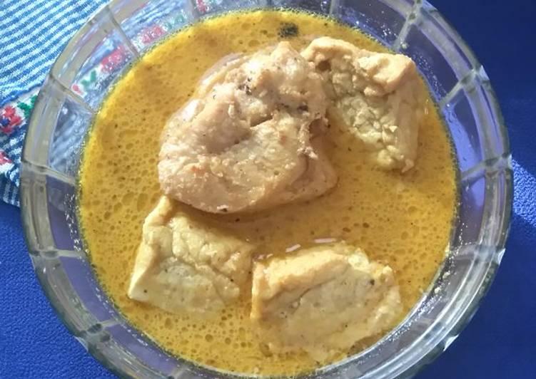 Resep Kare Ayam dan Tahu