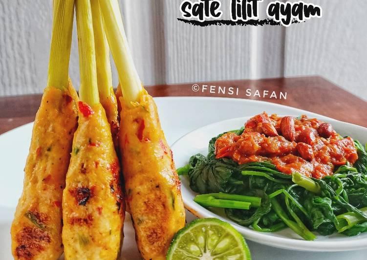 Resep Sate Lilit Ayam
