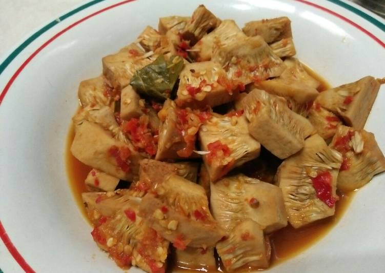 Resep Nangka muda kuah pedas manis