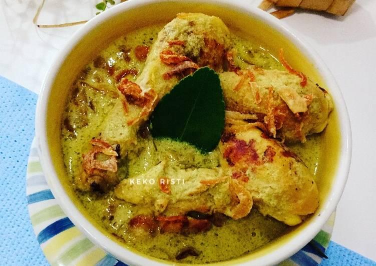Resep Opor Ayam Panggang Jepara
