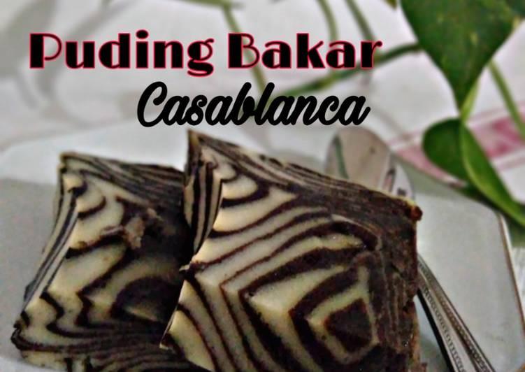 Resep Puding Casablanca