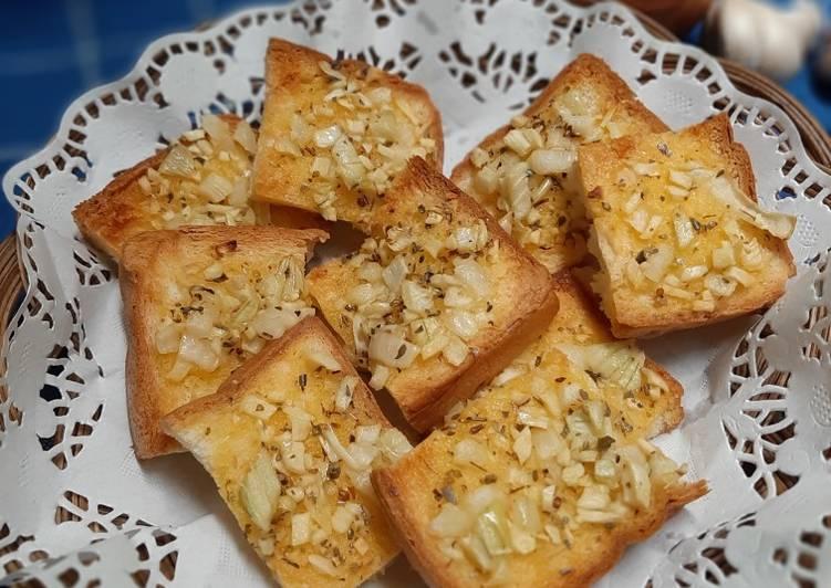 Resep Garlic Bread Roti Tawar