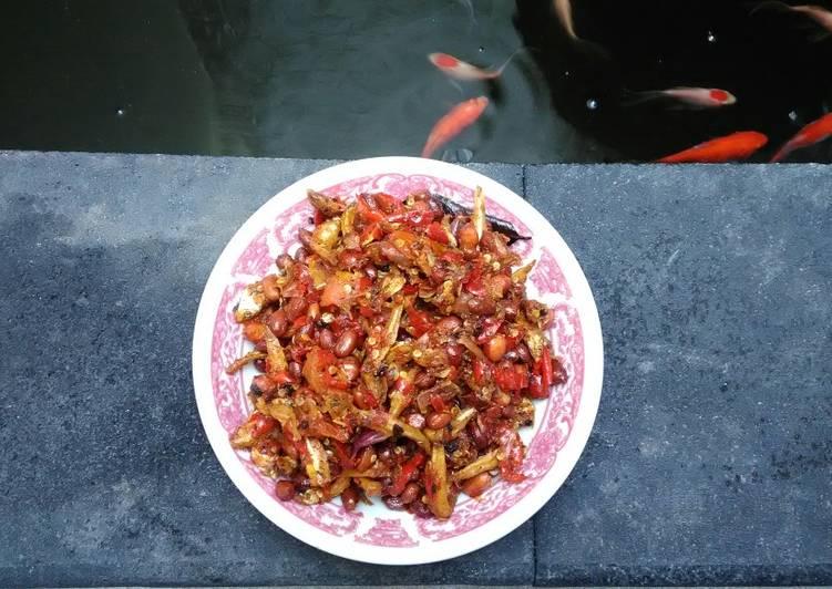 Resep Teri kacang balado #Recook_Aliyapeliyang PR_Wantuteri