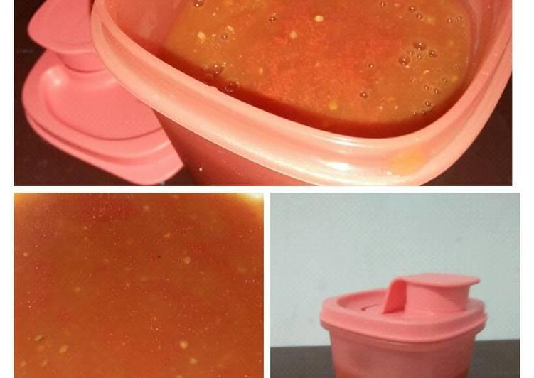 Resep Saus tomat homemade