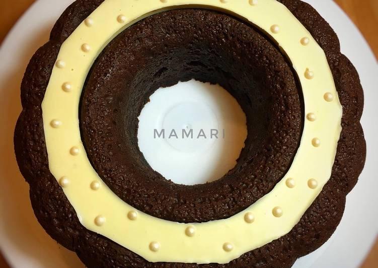 Resep Cake coklat tanpa mikser