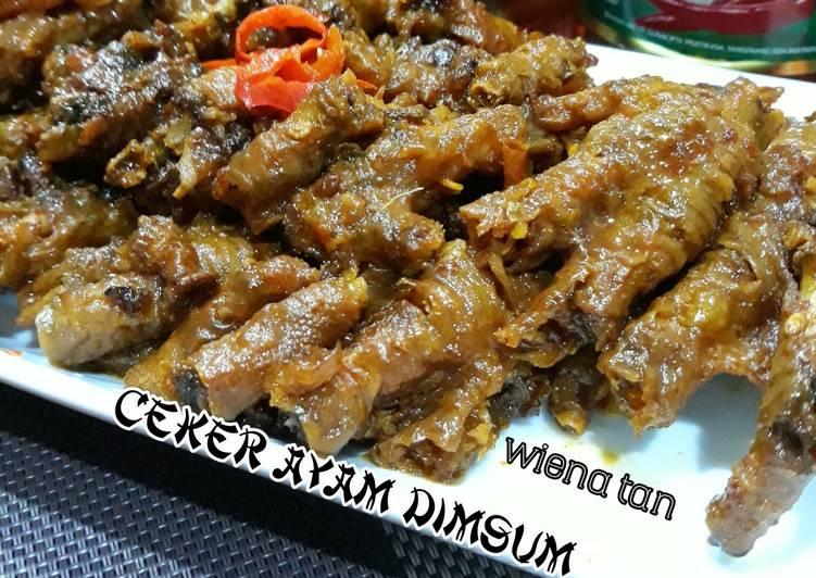 Resep Ceker Ayam Dimsum