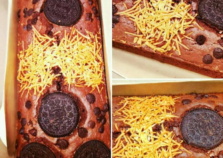 Resep Brownies trio panggang