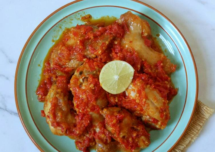 Resep Ayam Masak Habang