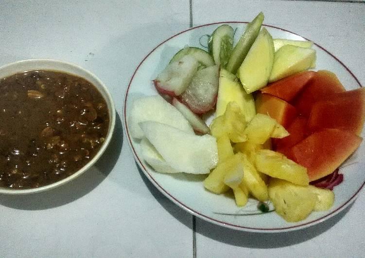Resep Rujak buah simple