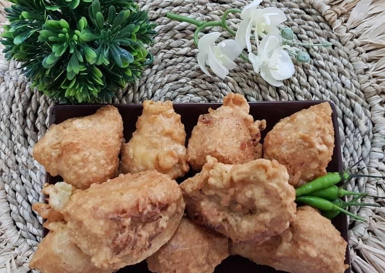 Resep Tahu Isi (Bakso + Sayur)
