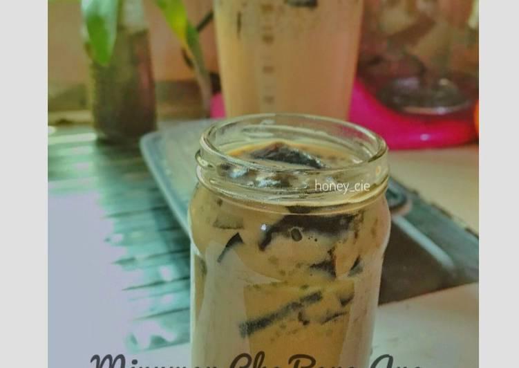Resep Minuman Cha Bang Ang(Minuman Viral Di Thailand)