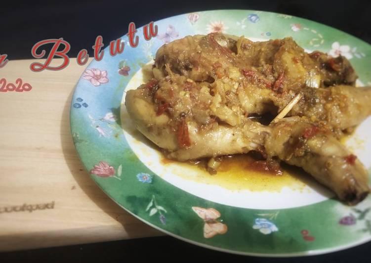 Resep Ayam Betutu #Week8