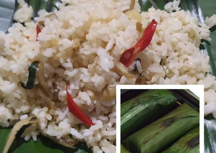 Resep Nasi Bakar Teri dan Sambal