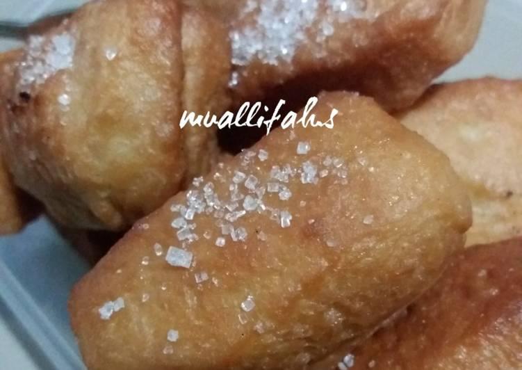 Resep Odading / Roti Goreng (Takaran Sendok)