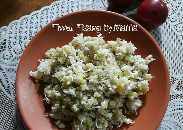 Resep Tiwul Pisang