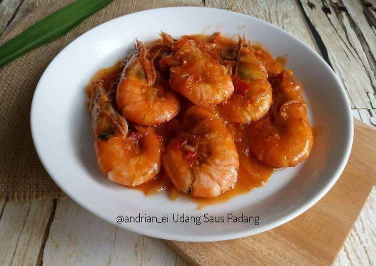 Resep Udang Saus Padang