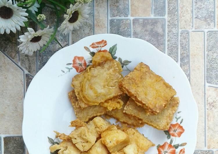 Resep Tahu Tempe Krispy