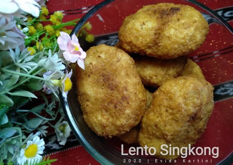 Resep Lento Singkong