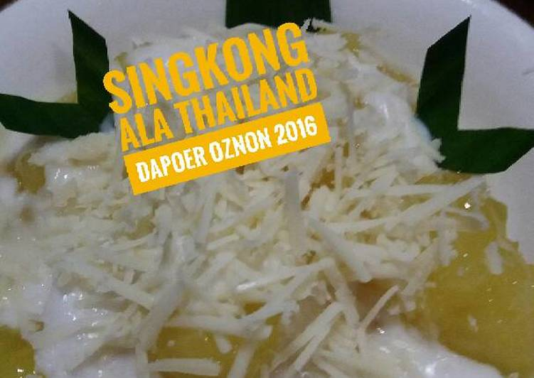 Resep Singkong ala thailand